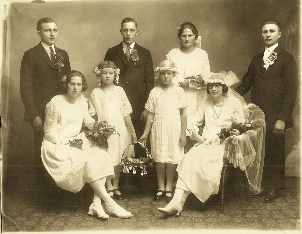 The couple made their home in West Allis and then, on March 14, 1926 Clara gave birth to their daughter Lorraine.