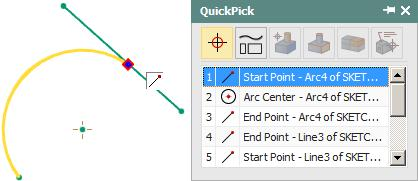 Control points are useful for a variety of tasks, such as building new geometry or making measurements of existing geometry.