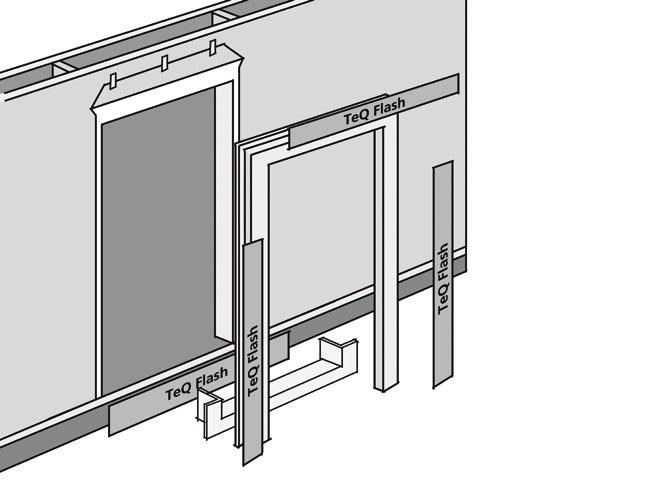 "correct. The rough opening is recommended to be no less than 3/4"" (19 mm) larger than the door unit in width and height."