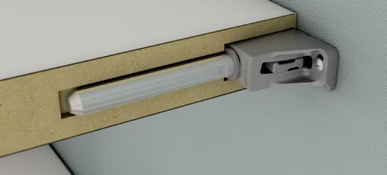 TRIADE TRIADE MAXI TRIADE / TRIADE MAXI is a concealed mounting bracket for shelves, conceived to