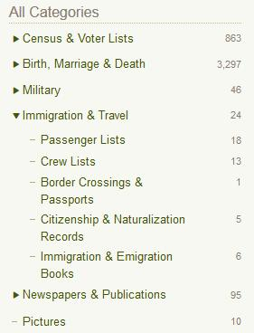 What new information do you find in the U.S. Naturalization Record Indexes?