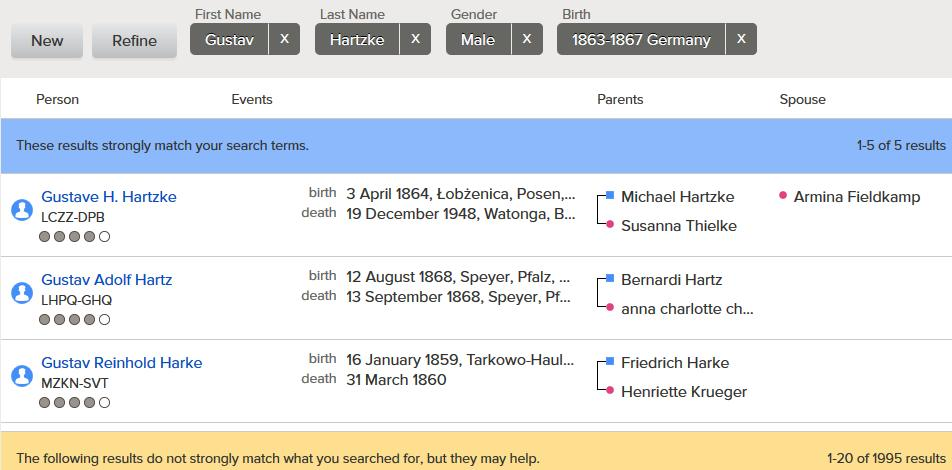 com Public Member Trees SECTION 1-1: FAMILY SEARCH FAMILY TREE 1. Sign into FamilySearch with your username and password and select the Family Tree tab. 2. Click Find 1 2 3.