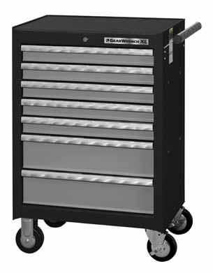 TOOL STORAGE 83154-26 4 Drawer Chest Width Depth Height Weight 26 16 19 73 4547 Storage Cubic Inch Drawer Dimensions Width Depth Height 4 Drawers 25-3/4 17-1/2 2-3/4 88 1 Tray 17 6-3/4 1-3/4 20 Load
