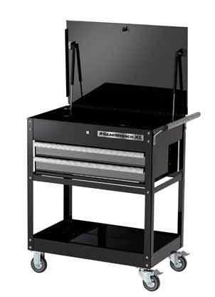 TOOL STORAGE 83152-2 Drawer Tool Cart Width Depth Height Weight Load Wt.