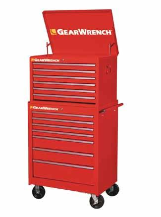 TOOL STORAGE 83124-27 6 Drawer Chest Width Depth Height Weight Load Wt.