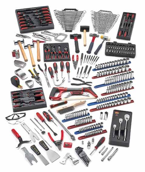 TECHNICAL EDUCATION SETS TECHNICAL EDUCATION SETS 83097 - Intermediate Auto Body TEP Set 80392 10mm 80399 17mm 80393 11mm 80400 18mm 80394 12mm 80401 19mm 80555 11 Pc. 6 Pt.