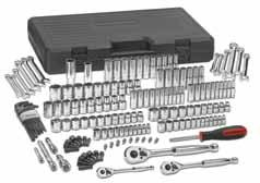 "80932-165 Pc. SAE/METRIC 6 & 12 Pt. Mechanics Tool Set MULTI DRIVE MULTI DRIVE SETS 80104 5/32"" 6 Pt. Std. SAE Socket 1/4"" Dr. 80105 3/16"" 6 Pt. Std. SAE Socket 1/4"" Dr. 80106 7/32"" 6 Pt. Std. SAE Socket 1/4"" Dr. 80107 1/4"" 6 Pt."