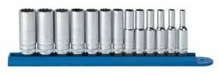 "80304-13 Pc. METRIC 6 Pt. Deep Socket Set 1/4"" DRIVE Item No. Description 80138 4 mm 6 Pt. Deep Metric Socket 1/4"" Dr. 80139 5 mm 6 Pt. Deep Metric Socket 1/4"" Dr. 80140 5.5 mm 6 Pt. Deep Metric Socket 1/4"" Dr. 80141 6 mm 6 Pt."
