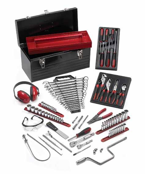 TECHNICAL EDUCATION SETS TECHNICAL EDUCATION SETS 83080 - Aviation Introductory TEP Set Screwdrivers and Pliers 80050 6 Pc.