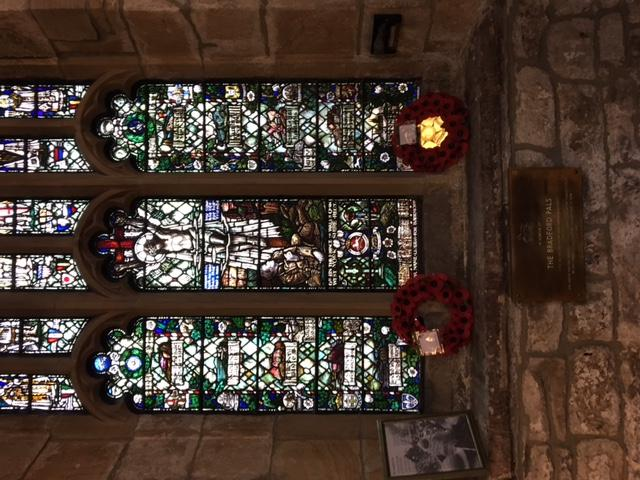 A stained glass window in Bradford Cathedral, Yorkshire is dedicated to those who served in WW1 Military Museums Depending on which unit your serviceman served with, there may be a museum you can