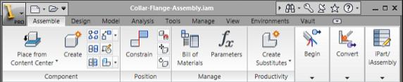 If you select an assembly constraint, an edit box is displayed at the bottom of the browser, enabling you to edit the offset or angle value for the constraint.