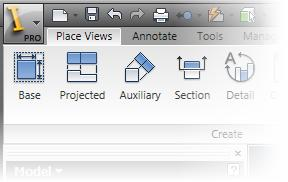 In the Open dialog box, select m_matingpress-drawing.idw and click Open. The ribbon updates to show drawing related tasks and tools. 7.