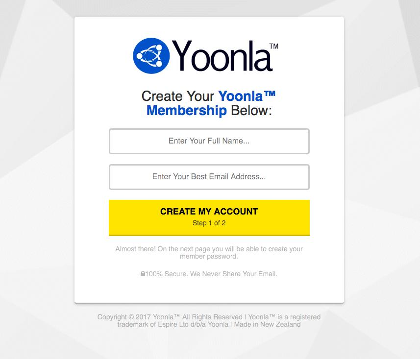 Putting The 2K Method into action The first step is to signup for your own free membership here: Get your FREE Yoonla Membership here (timfelmingham.