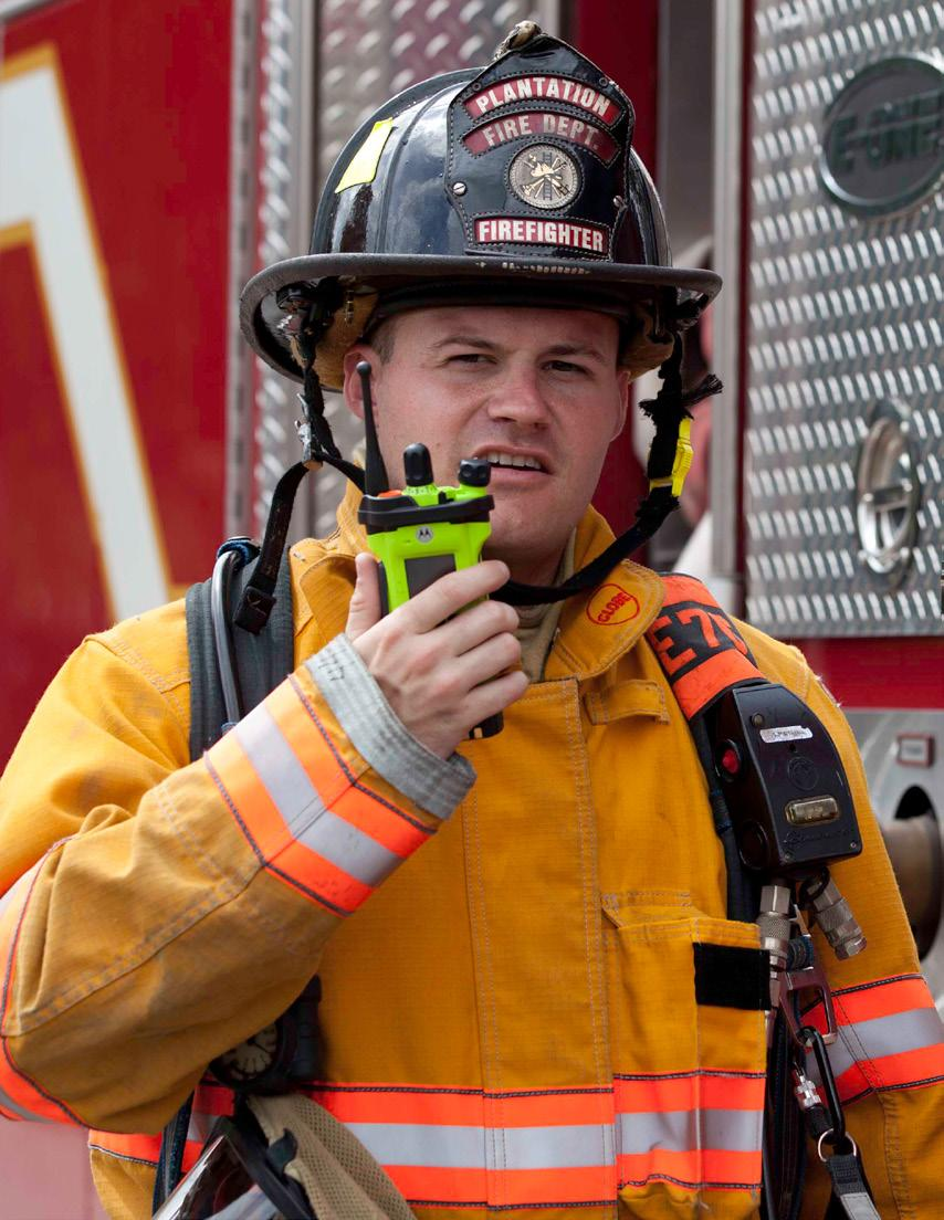 THE MOST COMPLETE LINEUP OF TWO-WAY RADIOS DESIGNED TO KEEP YOU SAFE Agencies expect their investment to deliver maximum