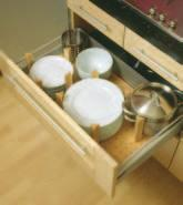 Cream-white DRAWER & CUTLERY INSERTS Cutlery Trays Available in grey