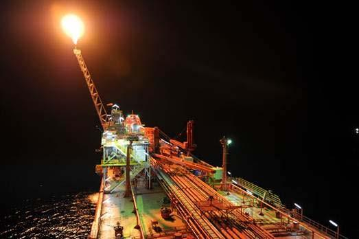 Southern Ocean in operation Figure 4: FPSO Rubicon Intrepid in production on