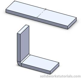 In this tutorials you will learn how to utilize sheetmetal tool such insert bend and flaten. 1. Click New. Click Part, OK. 2.