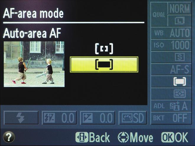 Focus Modes Single or One Shot AF is best used when shooting a subject that is not moving.