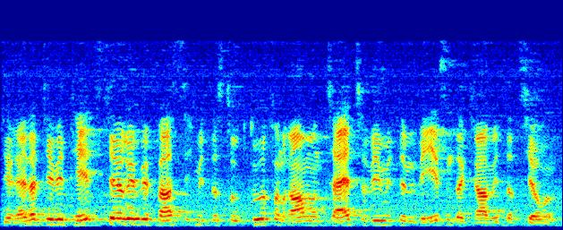 1th European Signal Processing Conference (EUSIPCO ), Florence, Italy, September -,, copyright by EURASIP speech measured at microphone array channel #1. The spectrogram in the middle of Fig.