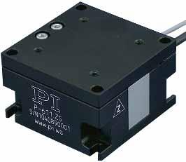 Z Piezo Z-Stage Compact Nanopositioner P-611 Z stages are piezo-based nanopositioning systems with 100 µm closed-loop travel range featuring a compact footprint of only 44 x 44 mm.