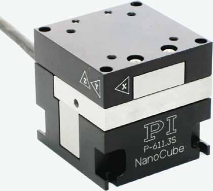 P-611.3 NanoCube XYZ Piezo Stage Compact Multi-Axis Piezo System for Nanopositioning and Fiber Alignment Physik Instrumente (PI) GmbH & Co. KG 2009. Subject to change without notice.