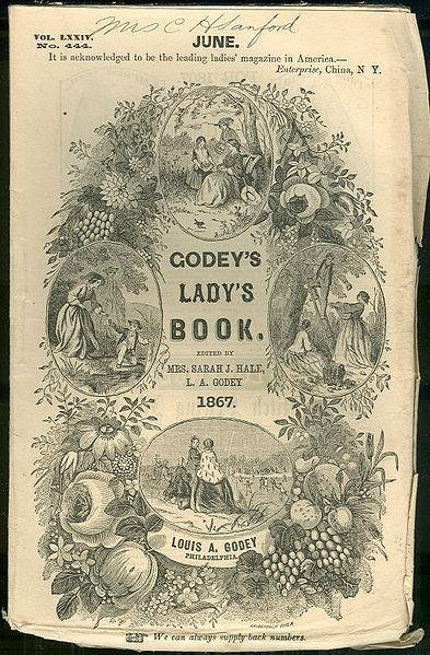 Godey s Lady s Weekly 1830 1898 Covered poetry, literature, and art primarily from women artists Included