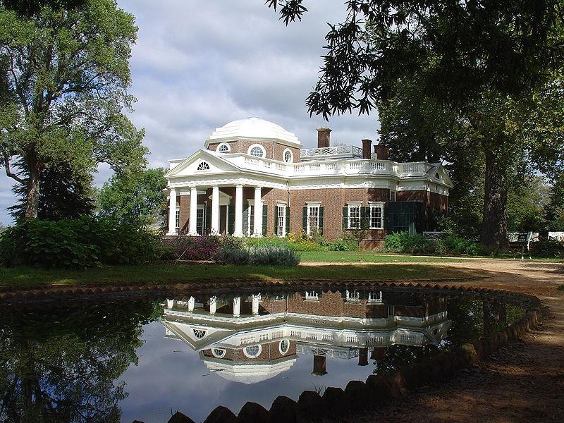 Monticello Built 1768 1809 Charlottesville, VA Home of Thomas Jefferson he designed it
