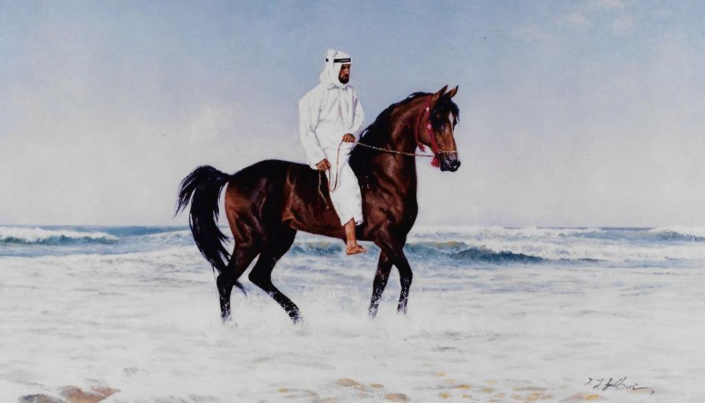 Terence Gilbert s first encounter with Arabian horses was fateful. A patron of mine owned several Arabian horses, he relates.