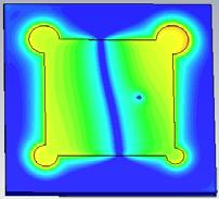 578 GHz and it is around o in both planes. Hence, the proposed antenna is - -8-4 4 8, degrees Fig.