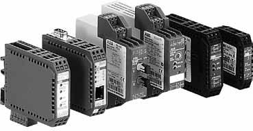 Index Power supplies - Signal and data converters General information...1 Analog signal converters....3.26 Features and benefits...3 Application, approvals and marks...4 Overview...5 -.