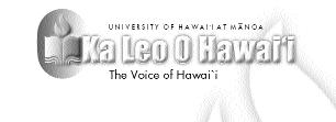 Page 4 Ka Leo O Hawai i Thursday, May 2, 2002 Strategic Plan sets workable priorities for school s future THE ISSUE: The University of Hawai`i at Manoa campus unveiled a draft of its plan for the
