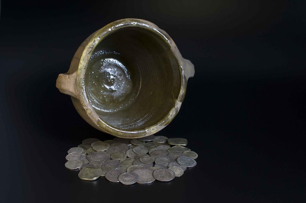 The collections of York Museums Trust boasts five hoards from the Civil War period but many hundreds have been found across the country.