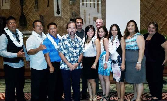 The Hawai i Lodging & Tourism Association s Kaua i Chapter held its 18th Annual Mālama Awards on April 25 at the Grand Hyatt Kauai Resort and Spa.