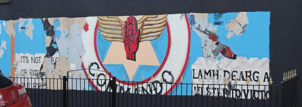 Foster 21 Figure 6: Red Hand Commandos mural on Shankill Road, Belfast