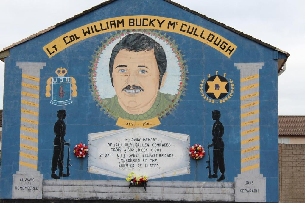 Foster 39 many other renditions of loyalist siege mentality have been painted by muralists.