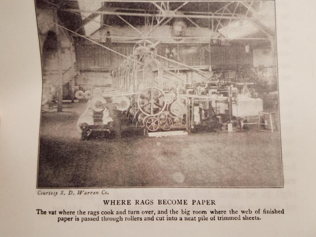 33 Figure 3. Papermaking Machinery Tappan, Eva March.