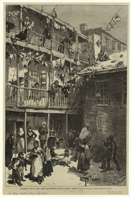 38 Figure 8. Rag Picker Living Conditions Art and Picture Collection, The New York Public Library.
