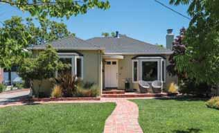 Caltrain OFFERED AT $1,598,000 680 Cotton Street, Menlo Park On one of the most