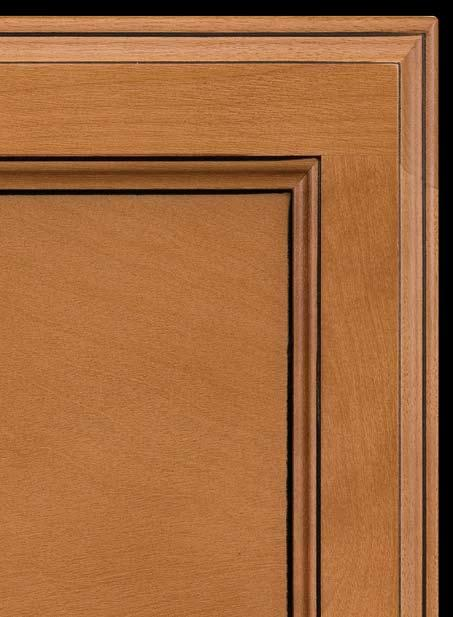 Dillon Café Glaze is a traditional reveal style featuring mortise and tenon construction.
