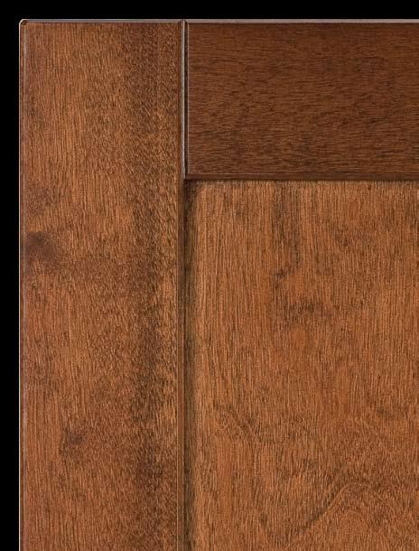 Shaker Walnut Hand Glazed Shaker Walnut Hand Glazed is a full overlay birch door with mortise