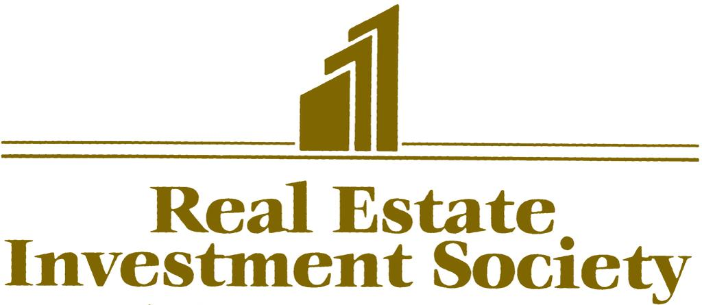 The Real Estate Investment Society (REIS) is an independent organization, dedicated to assisting members in the effective utilization of real estate through networking, education, public