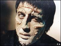 Frankenstein in the 1970s Christopher Lee in The Curse of