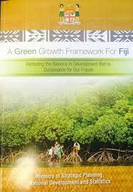 Fijian policies relating to oceans management Green Growth Framework for Fiji Restoring the Balance in Development that is Sustainable for Our Future Eight Guiding Principles Ten Thematic Areas