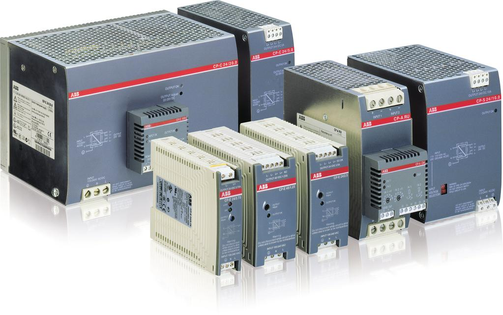 Primary switch mode power supplies Product group picture /1