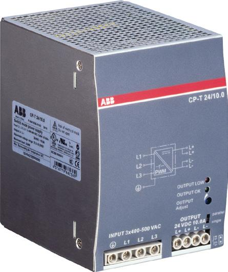 The devices can be supplied with a threephase voltage as well as with two-phase mains.