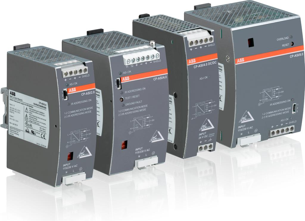 CP-ASI range Product group picture /57 ABB Catalog