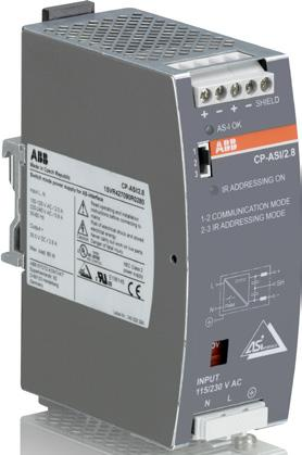 CP-ASI range Ordering details 2CDC 271 002 S0012 Description The CP-ASI power supply range is specifically designed with