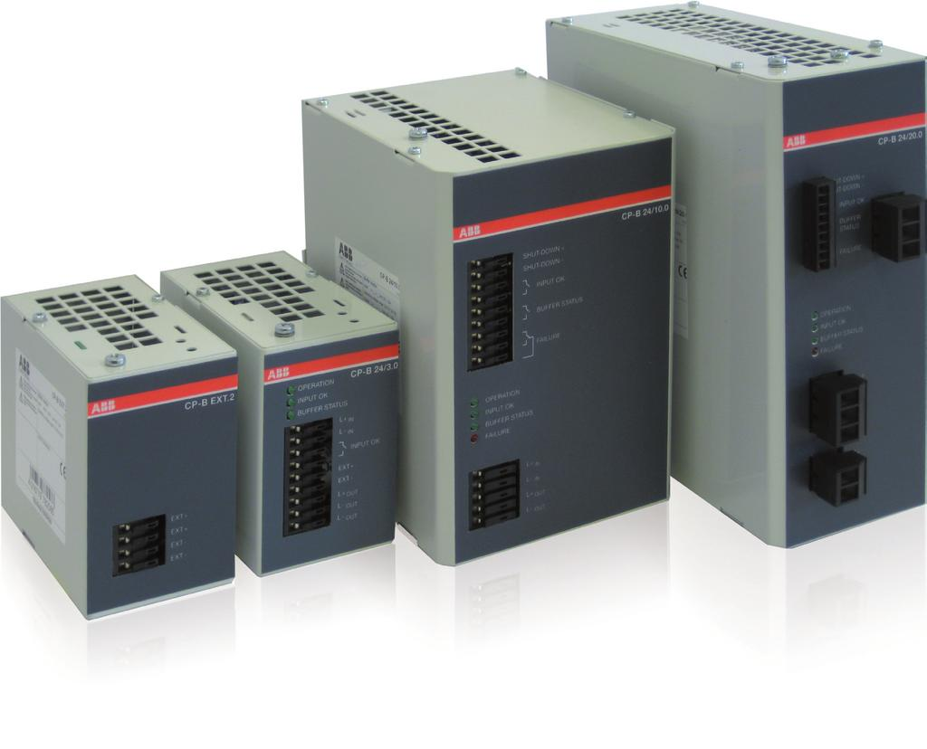 CP-B range Product group picture /65 ABB Catalog