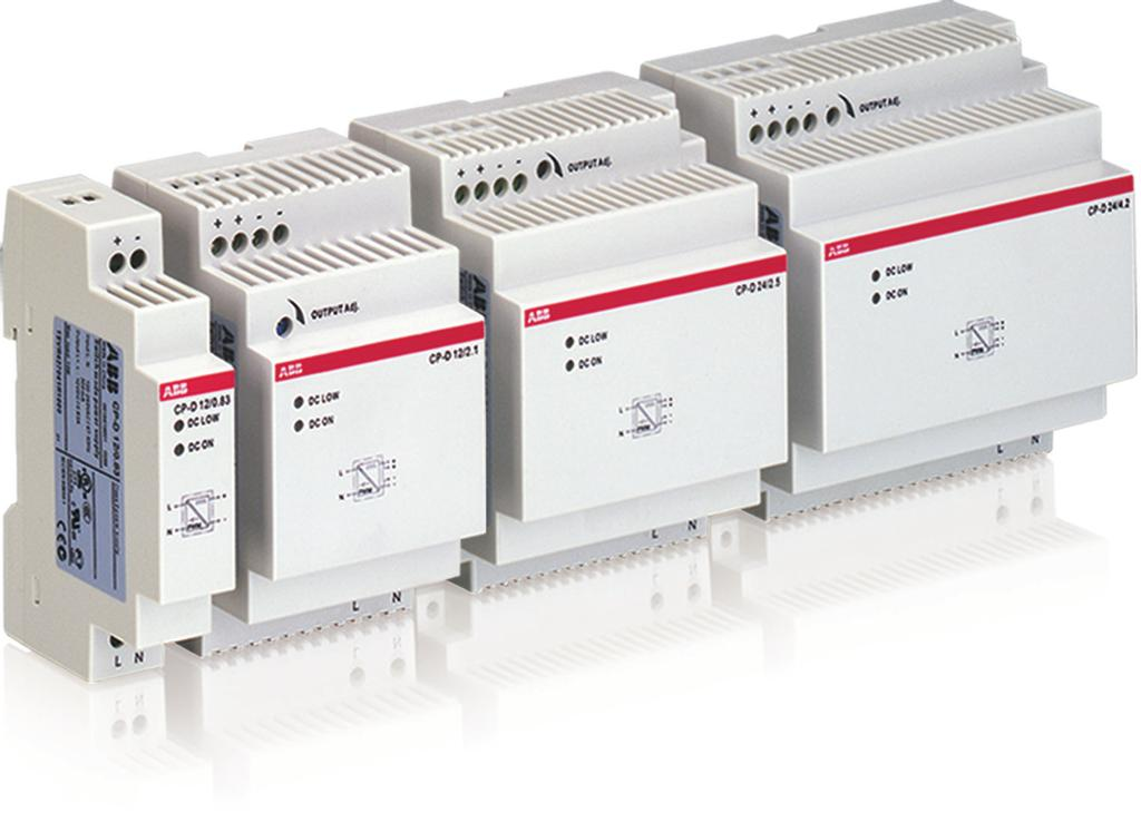 CP-D range Product group picture /7 ABB Catalog