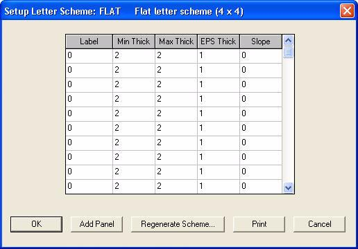 Click on the heading of the EPS Thick column. The Column Change dialog box opens, as in Figure 3 5. Figure 3 5 Column Change dialog box 7. Type 1 as the EPS thickness, and click OK.